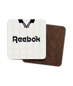 Bolton Wanderers 1995-97 Home Shirt Retro Football Coaster