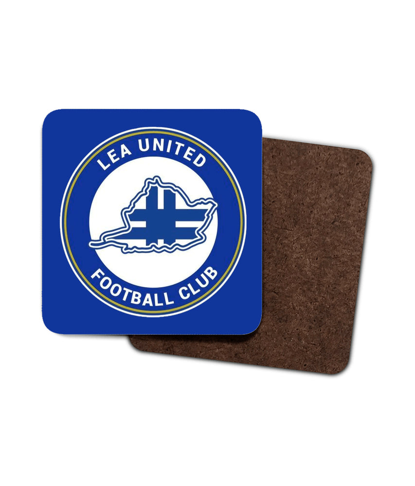 Lea United Badge Football Coaster