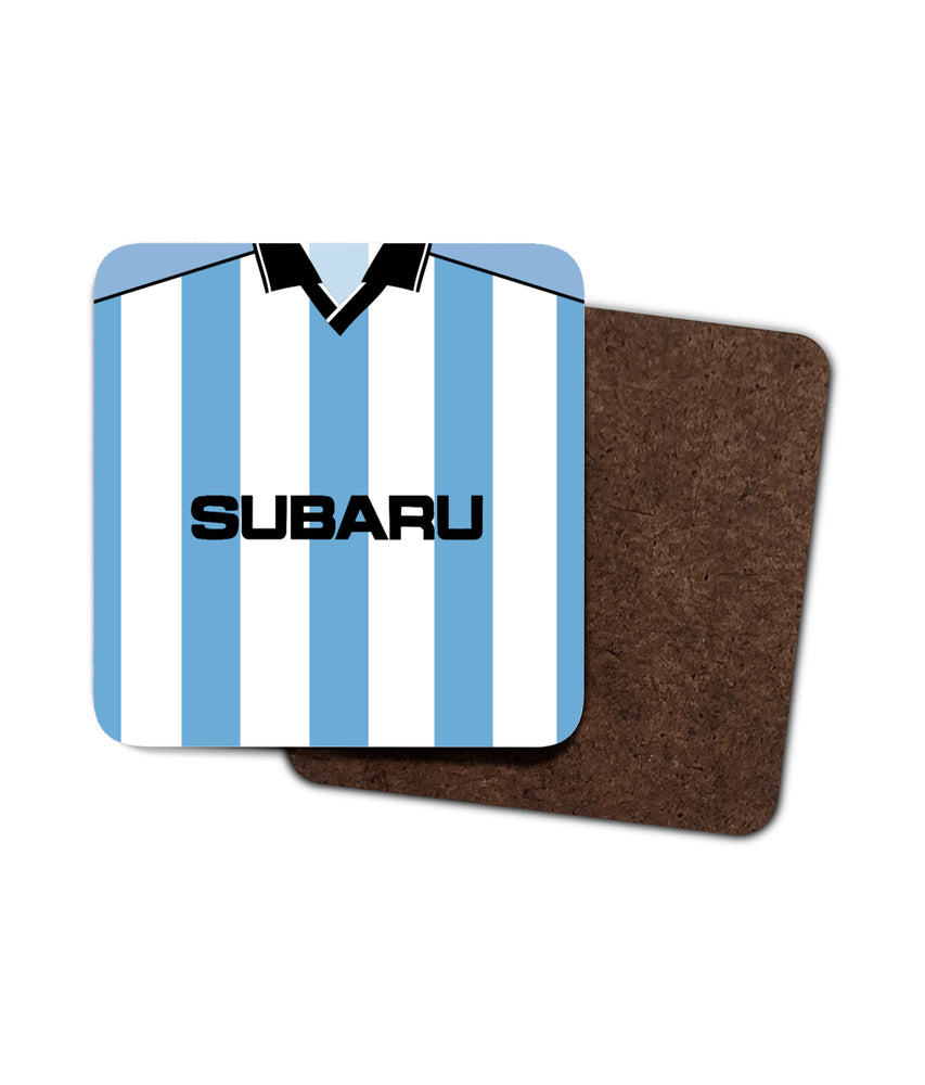 Coventry City 2000/01 Home Shirt Retro Football Coaster