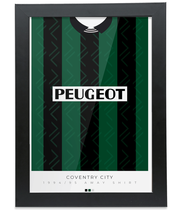 Coventry City 94-95 Away Poster