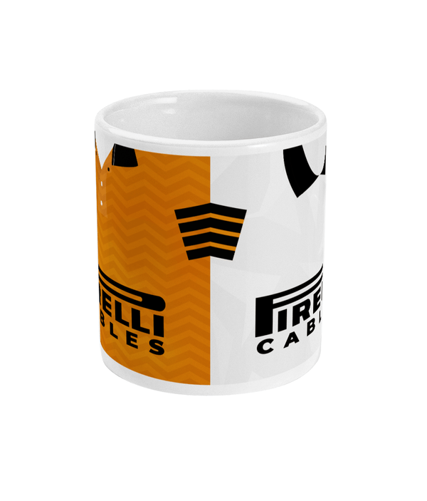 Newport County 1990-91 Home & Away Shirt Mug