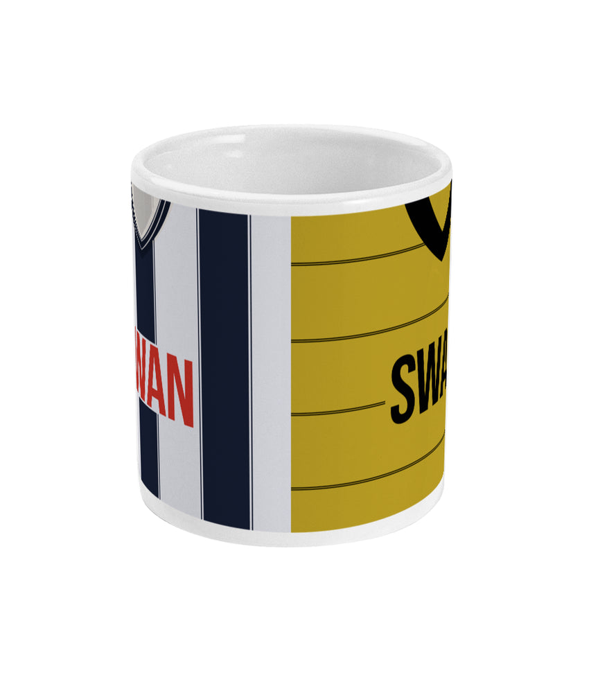 West Bromwich Albion 1983/84 Home & Away Shirt Retro Football Mug