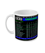 Arsenal 2004 Invincibles Premier League Table CEEFAX Result Mug