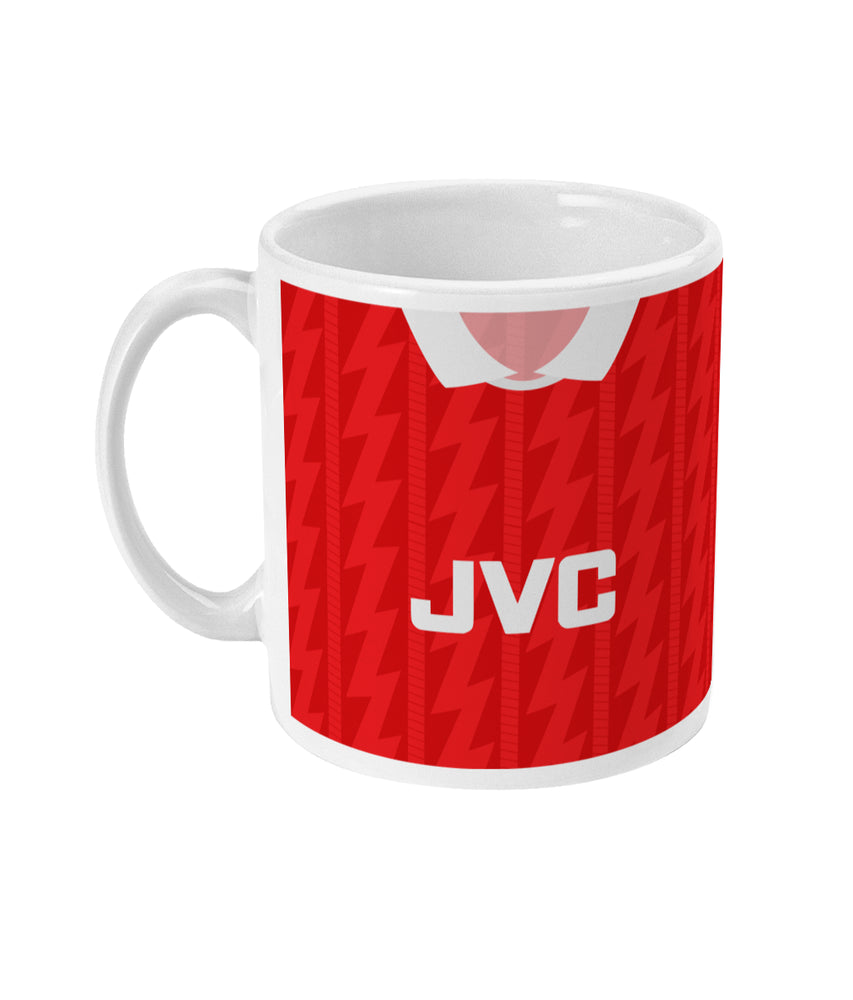 Arsenal 1995-96 Home Shirt Retro Football Mug