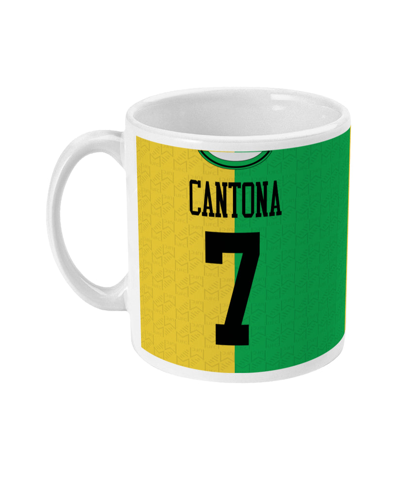Man United 1992-94 Cantona Third Shirt Mug