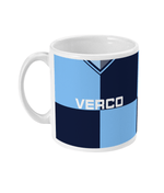 Wycombe Wanderers 1997/98 Home Shirt Retro Football Mug