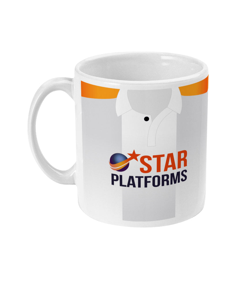 Luton Town 2018/19 Away Shirt Retro Football Mug