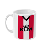 Brentford 1985-86 Home Shirt Retro Football Mug