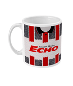Cardiff City 1992-93 Away Shirt Retro Football Mug