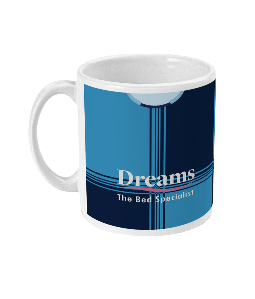 Wycombe Wanderers 2020/21 Home Shirt Retro Football Mug