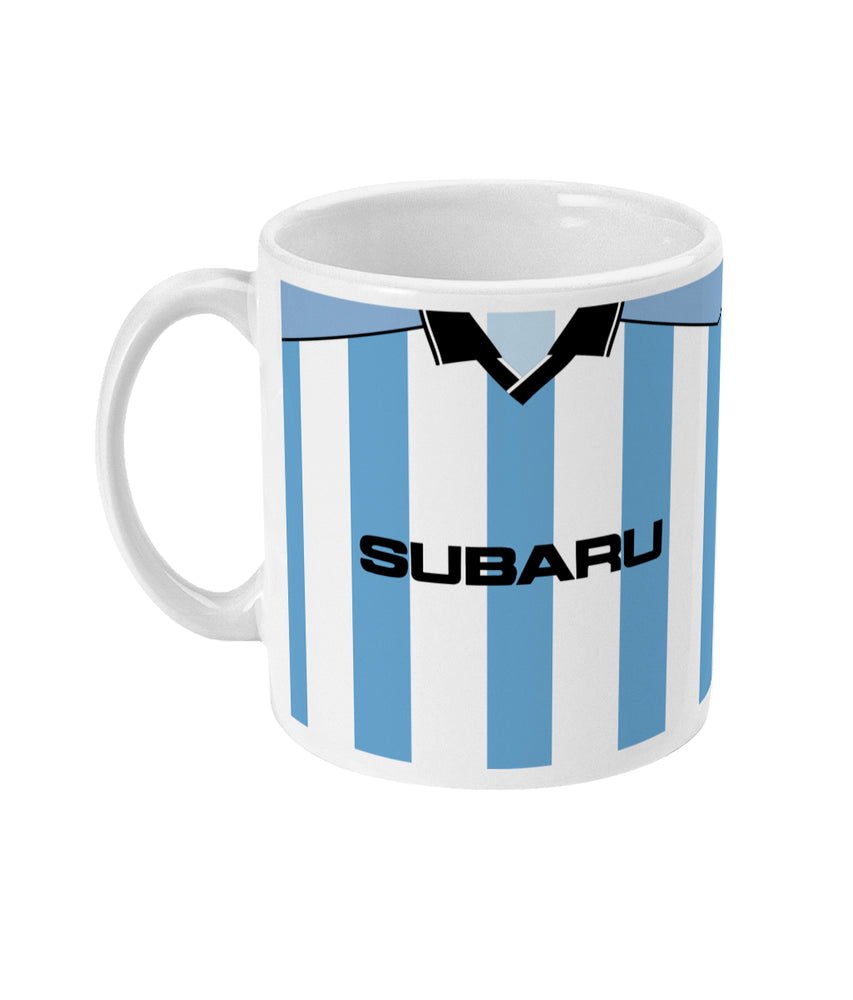 Coventry City 2000/01 Home Shirt Retro Football Mug