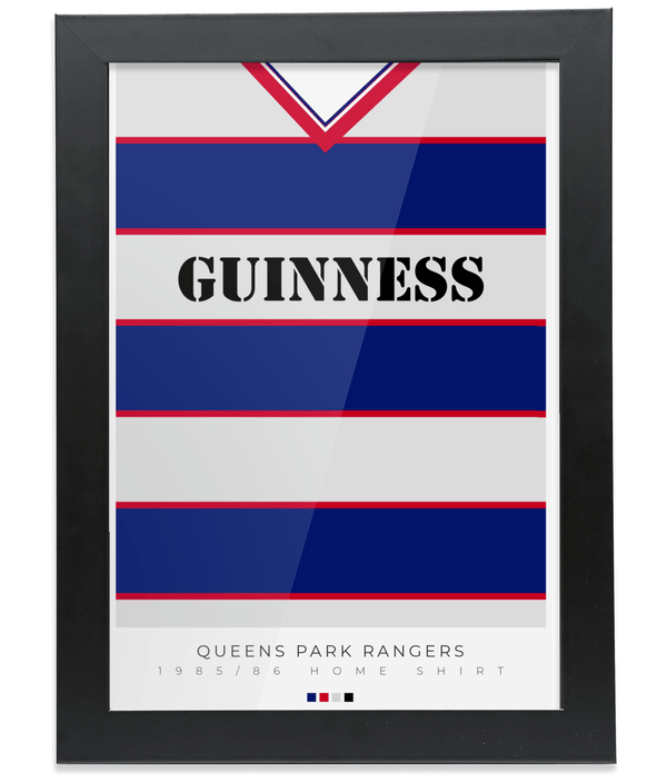 QPR 85-86 Home poster