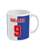 Blackburn Rovers 1994/95 Shearer Home Shirt Retro Football Mug