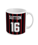 Blackburn Rovers 1994/95 Sutton Away Shirt Retro Football Mug