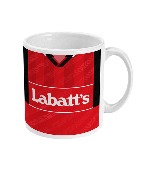 Nottingham Forest 1994-96 Home Shirt Mug