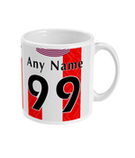 Southampton 1993-95 Personalised Home Shirt Retro Football Mug