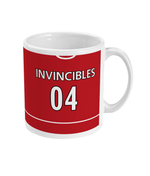 Arsenal 2004 Invincibles Home Shirt Retro Football Mug