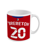 Blackburn Rovers 2020/21 Brereton Away Shirt Football Mug