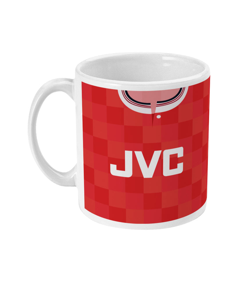 Aberdeen 1987-90 Home Shirt Retro Football Mug