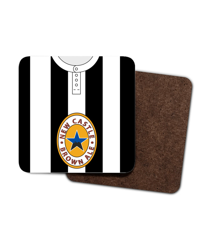 Newcastle United 1995/97 Home Shirt Coaster Pack