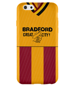 Bradford 1987/88 Home Shirt Phone Case