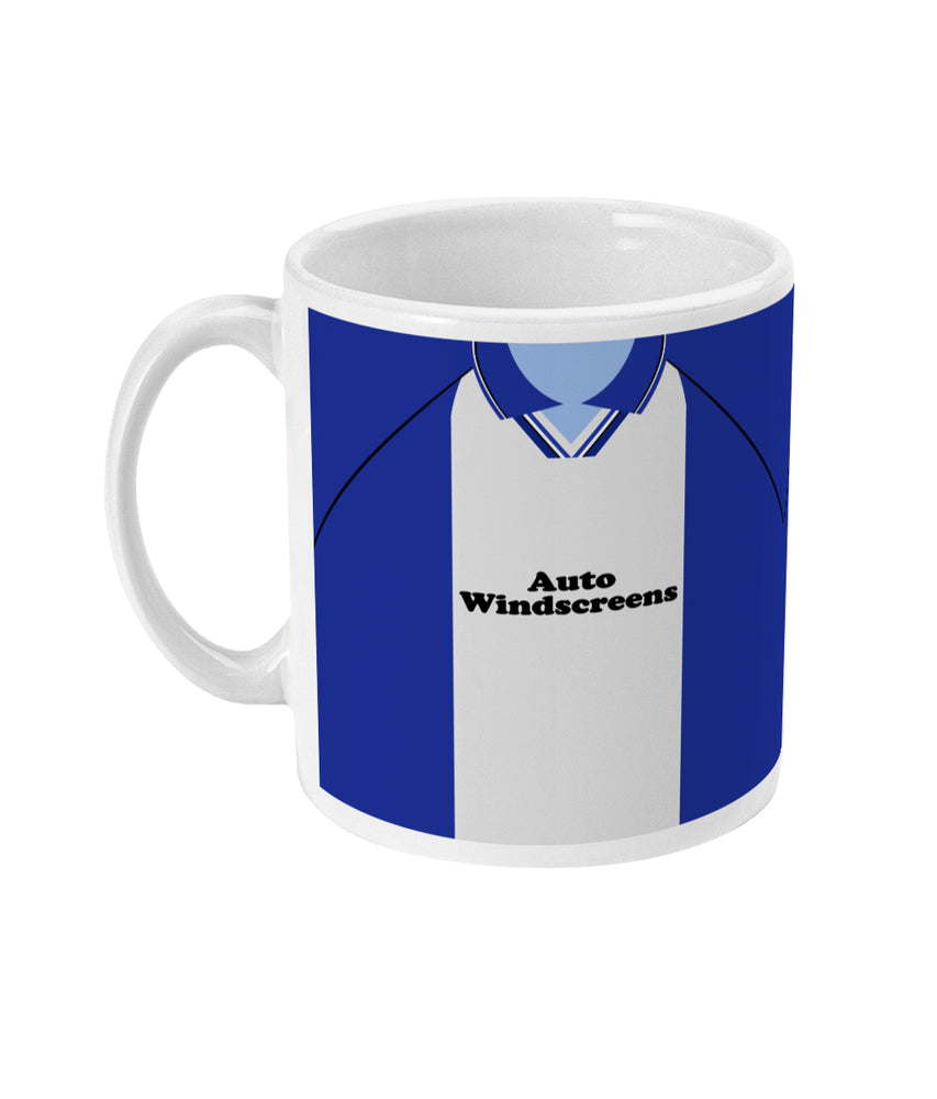 Birmingham City 1997-98 Home Shirt Retro Football Mug