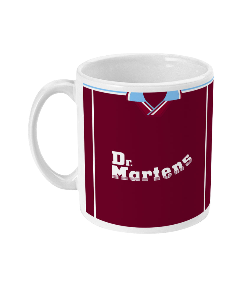 West Ham United 1999/00 Home Shirt Mug