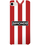 Sheffield United Home Kit 1983-85 iPhone Case