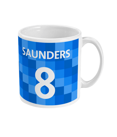 Derby County 1988/89 Saunders Mug