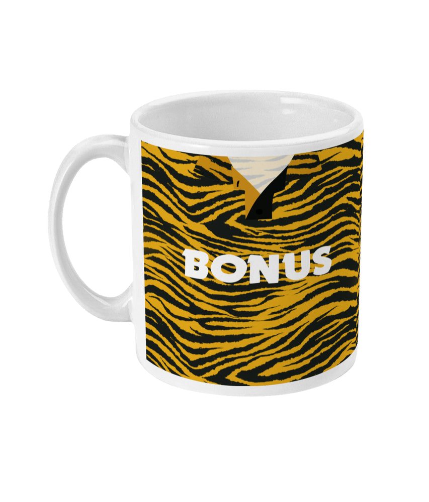 Hull City 1992-93 Home Shirt Retro Football Mug