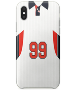 England 1998 Personalised Home Shirt Retro Football Phone Case
