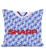 Man United 1990-92 Third Shirt Retro Football Pillow