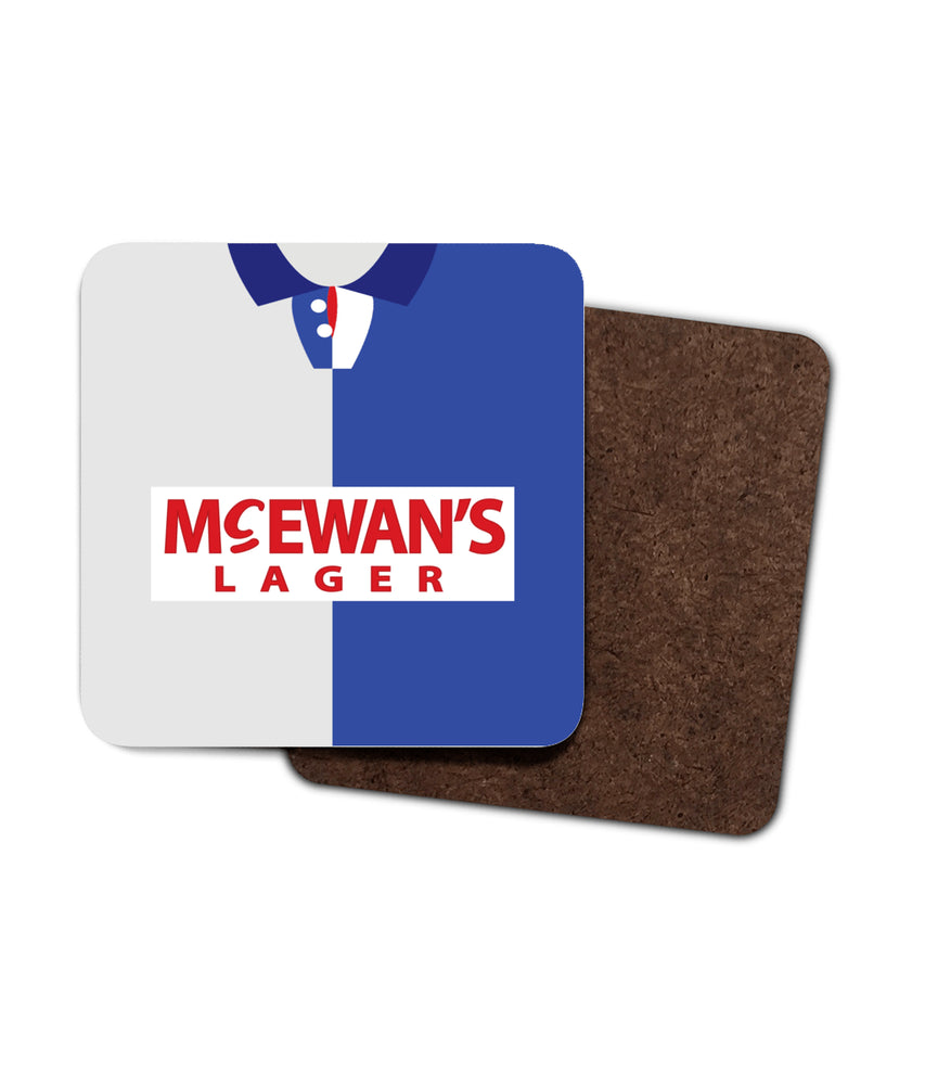 Blackburn Rovers 1994-95 Home Shirt Coaster Pack