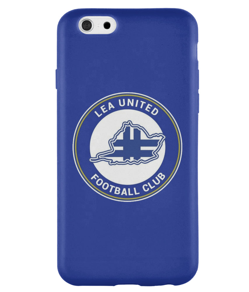 Lea United Blue Badge Football iPhone Case