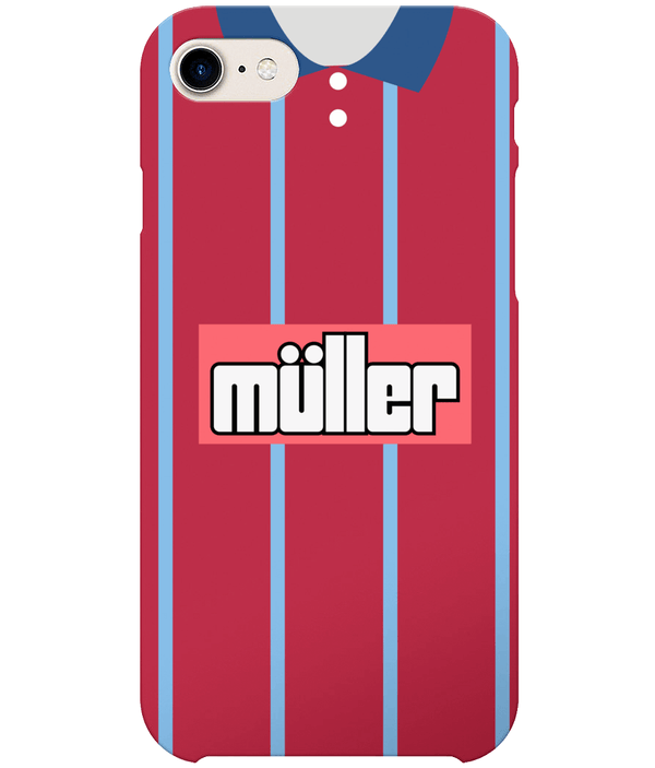 Aston Villa 1993-95 Home Shirt Phone Case