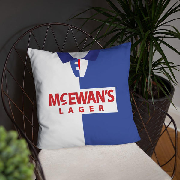 Blackburn Rovers 1995 Home & Away Shirt Pillow