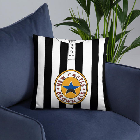 Newcastle United 1995/97 Home Shirt Pillow