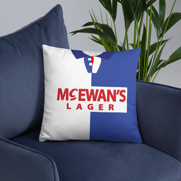 Blackburn Rovers Shirt Pillow