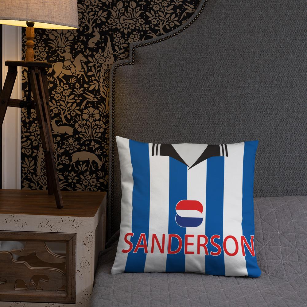 Sheffield Wednesday 1997 Home & Away Pillow