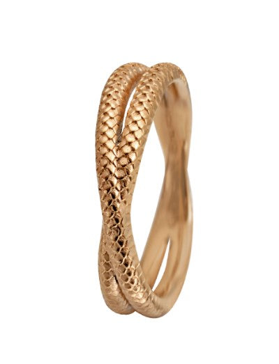 Christina Jewelry ring Twin snake
