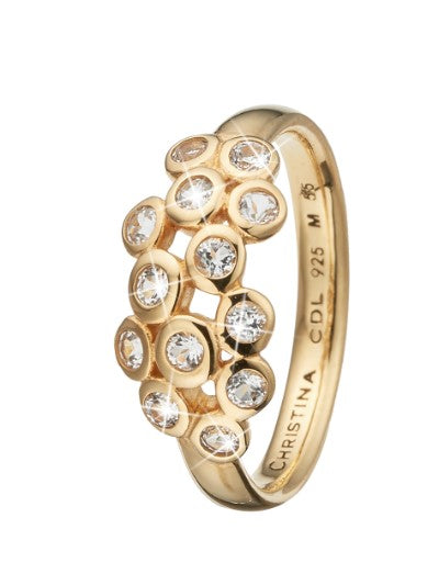 Christina Jewelry ring Champagne Love