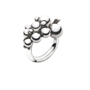 Georg Jensen Moonlight Grapes ring sølv