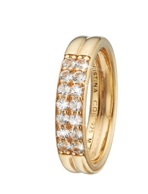Christina Jewelry ring Eternity Topaz