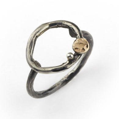 By Birdie Comet Circle ring