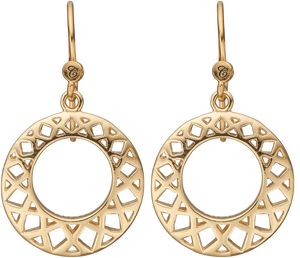 Christina Jewelry ørehænger Circles Of Happiness