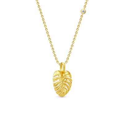 Julie Sandlau Philo Leaf Necklace