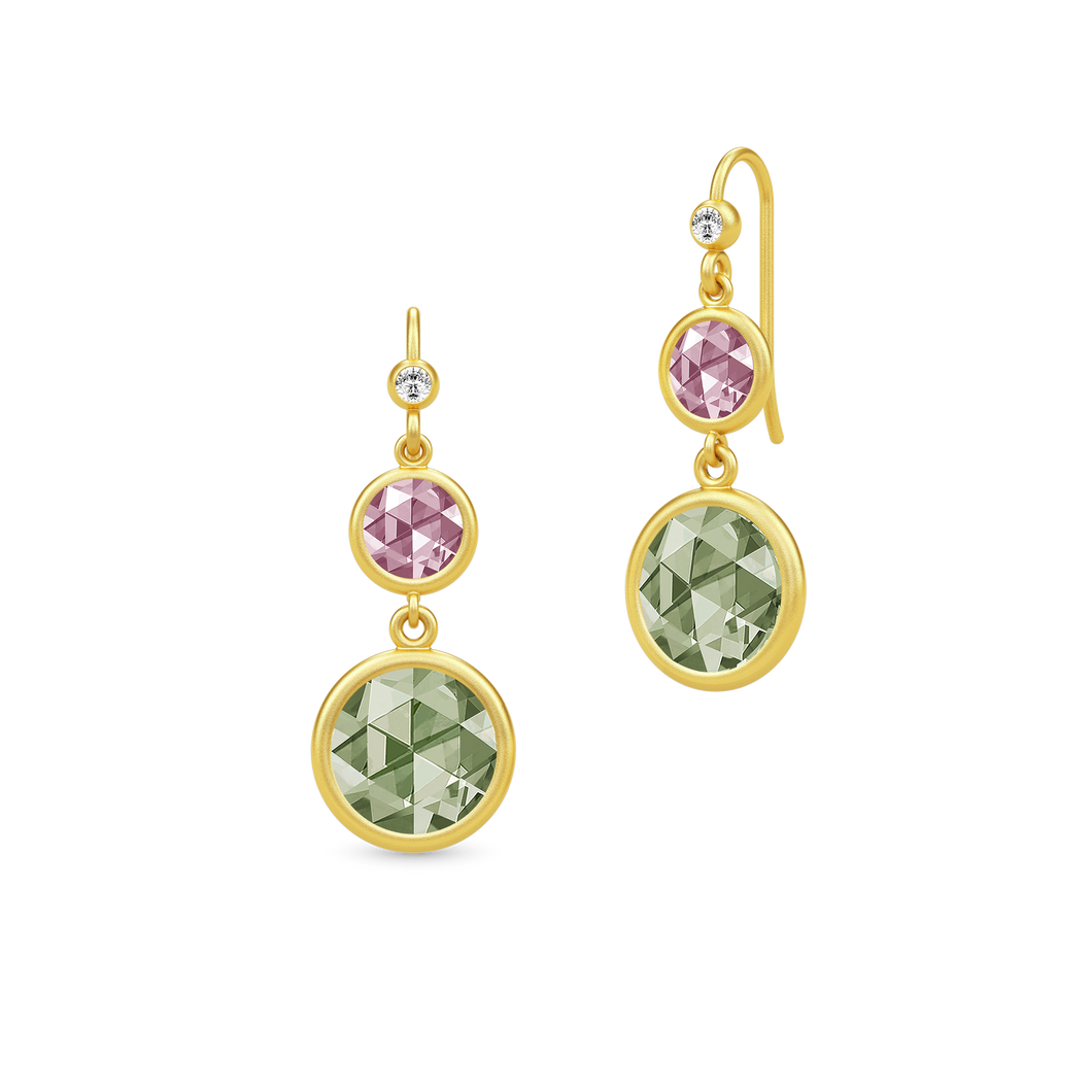 Julie Sandlau Cocktail Double Earrings