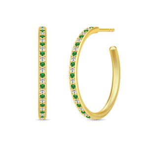 Julie Sandlau Infinity Medium Hoops