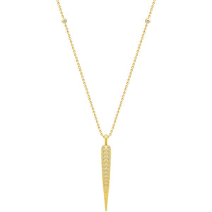 Julie Sandlau Peacock Feather Necklace
