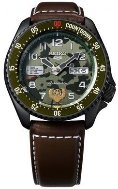 Seiko 5 X Street Fighter Guile Limited Edition SRPF21K1